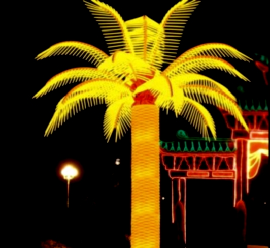 lampu hias kembang api