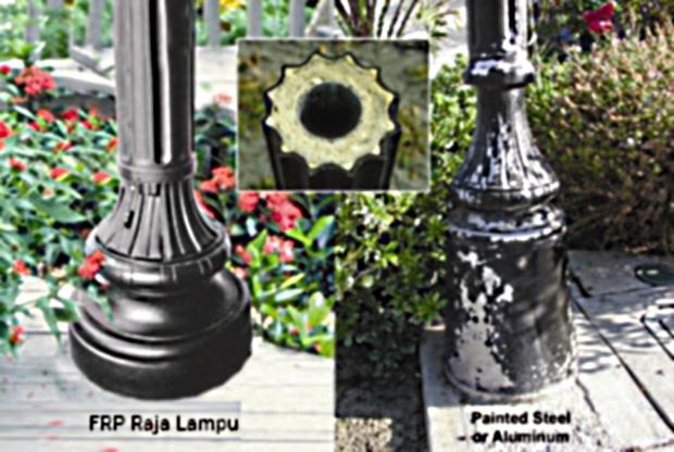 Perbandingan Umpak Komposit dan Aluminium
