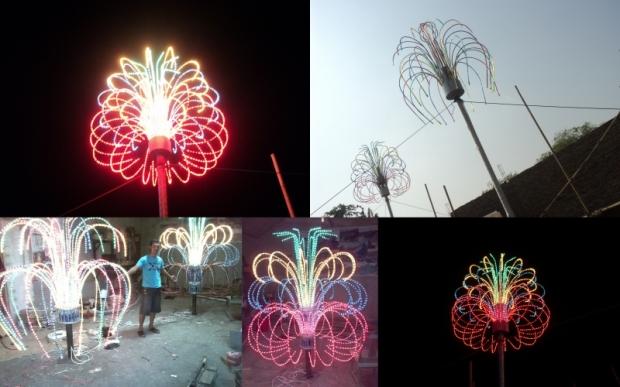 Proyek Lampu Hias Bangka Belitung