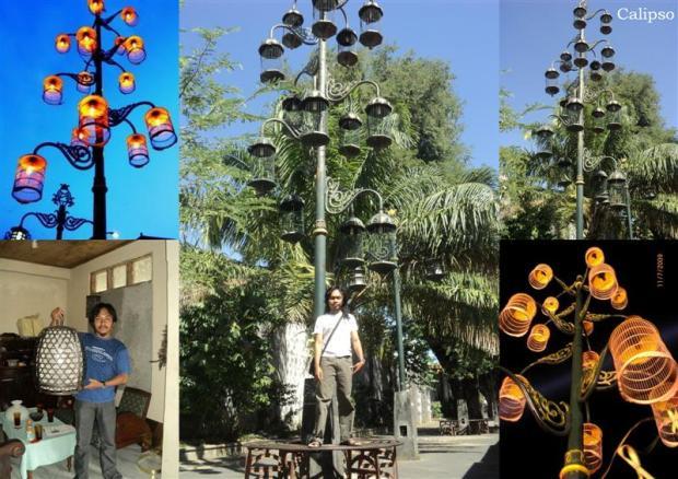 Raja Lampu Etnik Lantern (1)