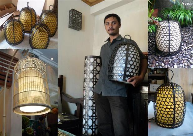 Raja Lampu Etnik Lantern