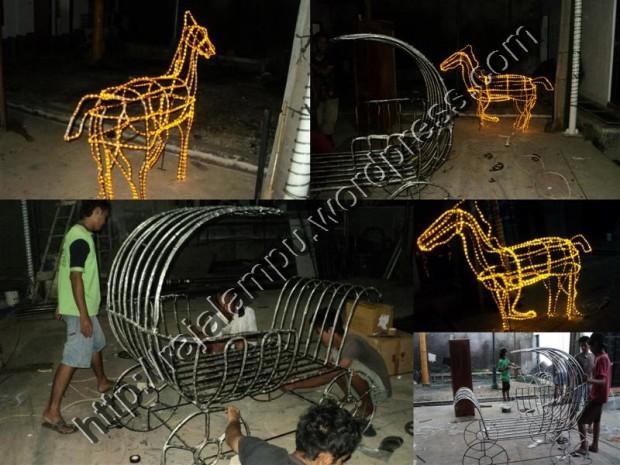 Proyek Lampu Hias Motif (Medium)