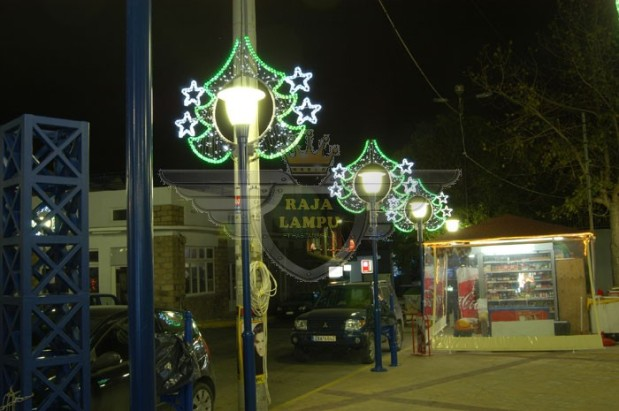 Lampu Hias Motif Tiang PJU12