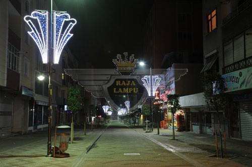Lampu Hias Motif Tiang PJU24