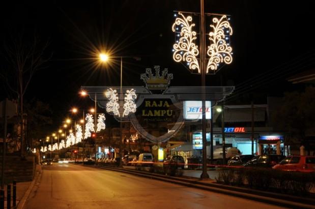 Lampu Hias Motif Tiang PJU6