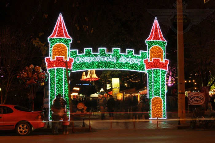 Lampu Hias Natal