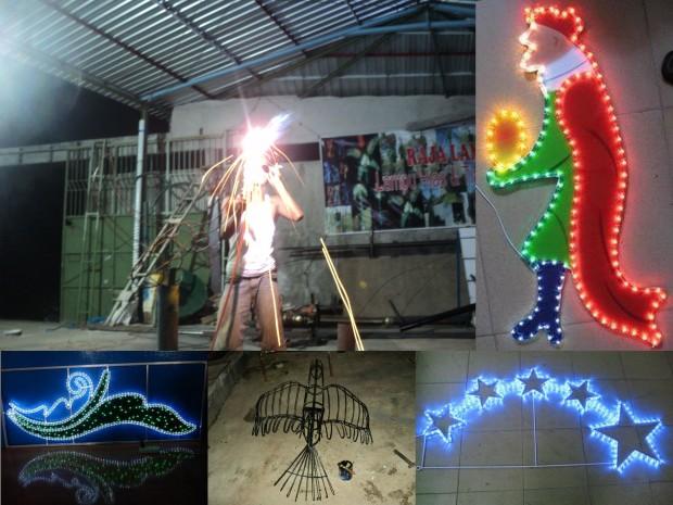 Proyek Lampu Hias Motif6