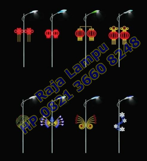 Lampu Hias Tiang PJU (10)