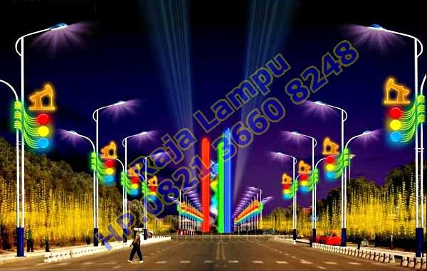 Lampu Hias Tiang PJU (5)