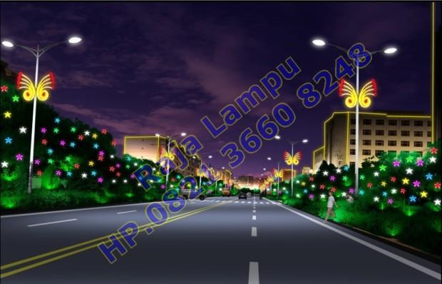 Lampu Hias Tiang PJU (7)
