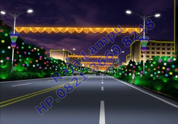 Lampu Hias Tiang PJU (9)