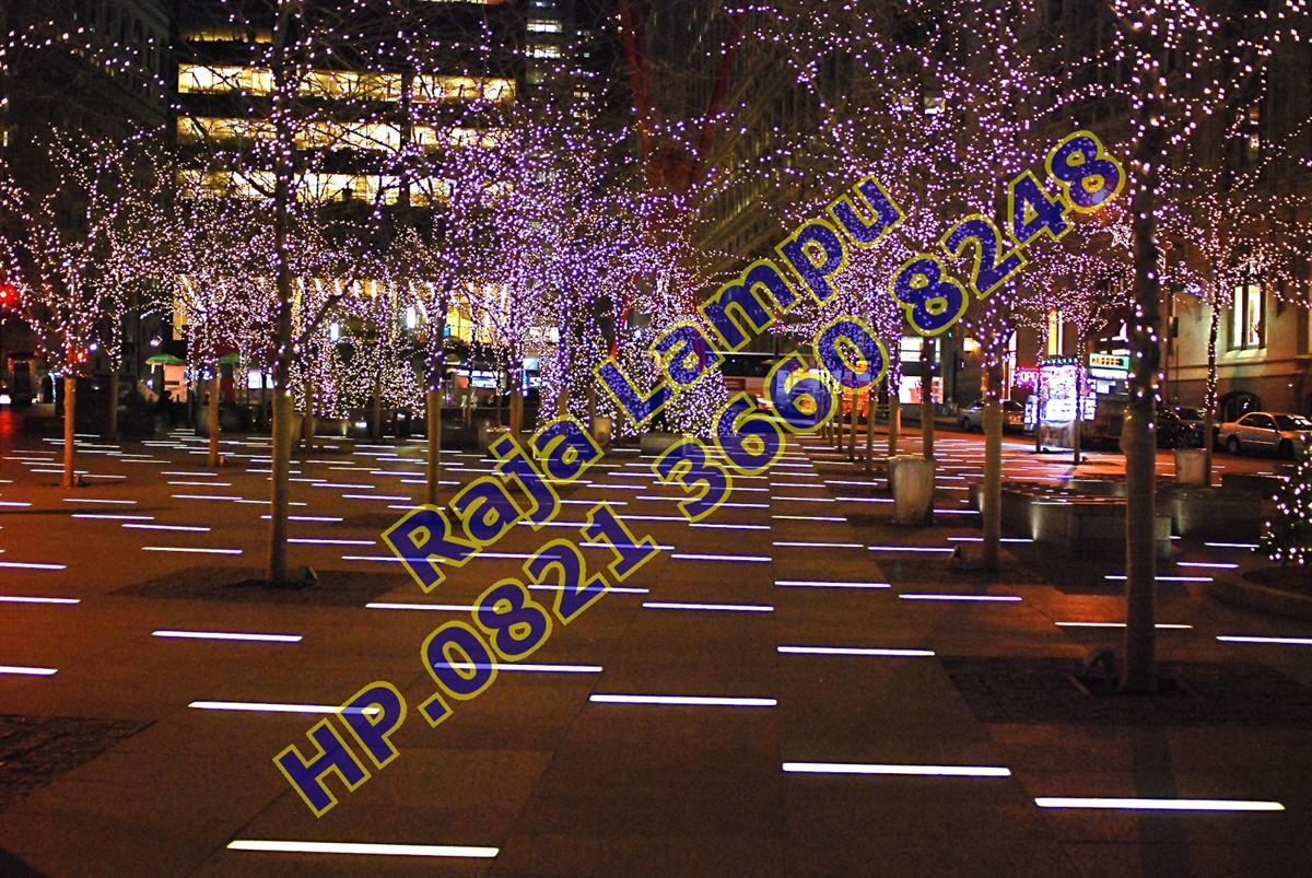 Lampu Hias Jalan Dekorasi Taman Kota Dan Gedung