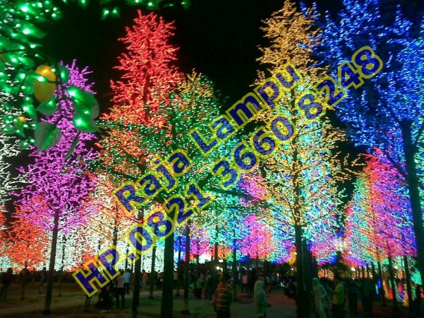 Lampu Hias Pohon Sakura
