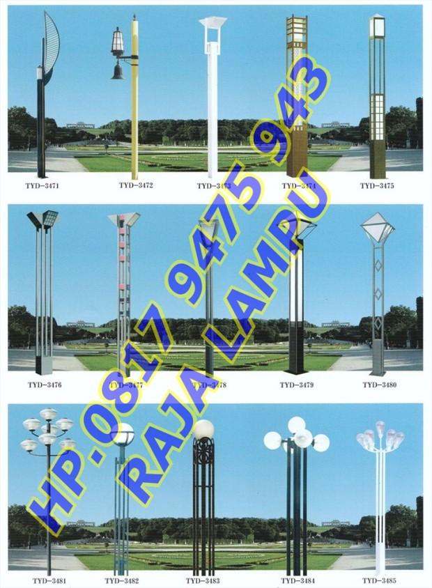 Tiang Lampu Taman (10)