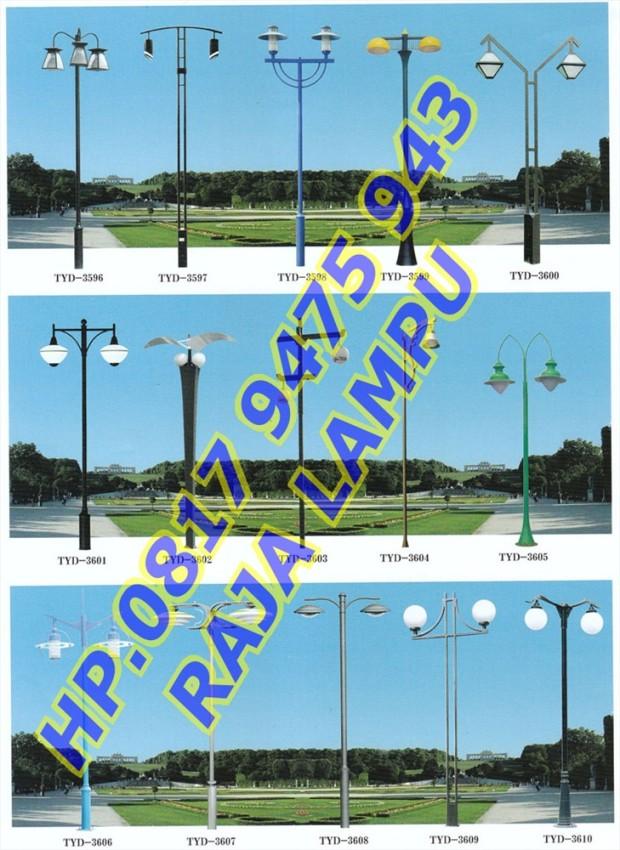 Tiang Lampu Taman (3)