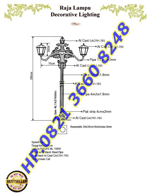 Brosur Antik RLTA3765041 Custom