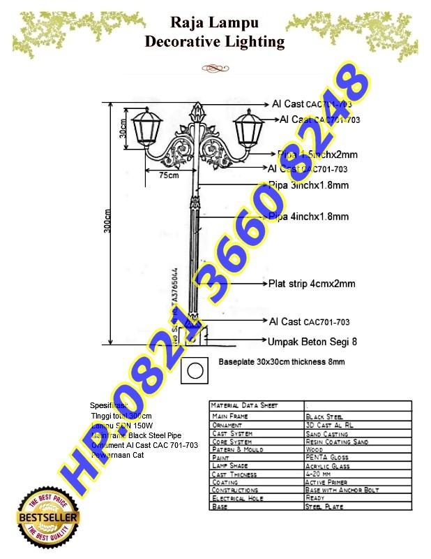 Brosur Antik RLTA3765044 150W SON
