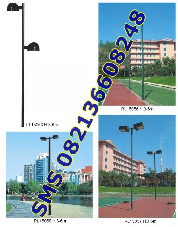 Tiang Lampu SPBU dan Taman11