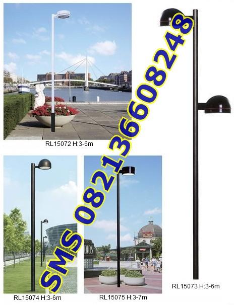 Tiang Lampu SPBU dan Taman15