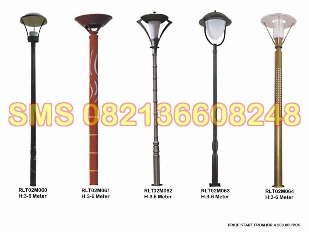 Tiang Lampu Taman Minimalis RLT02M11