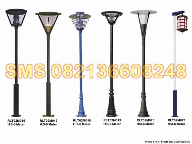 Tiang Lampu Taman Minimalis RLT02M2