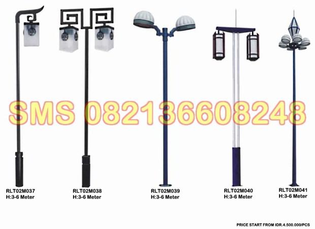 Tiang Lampu Taman Minimalis RLT02M6