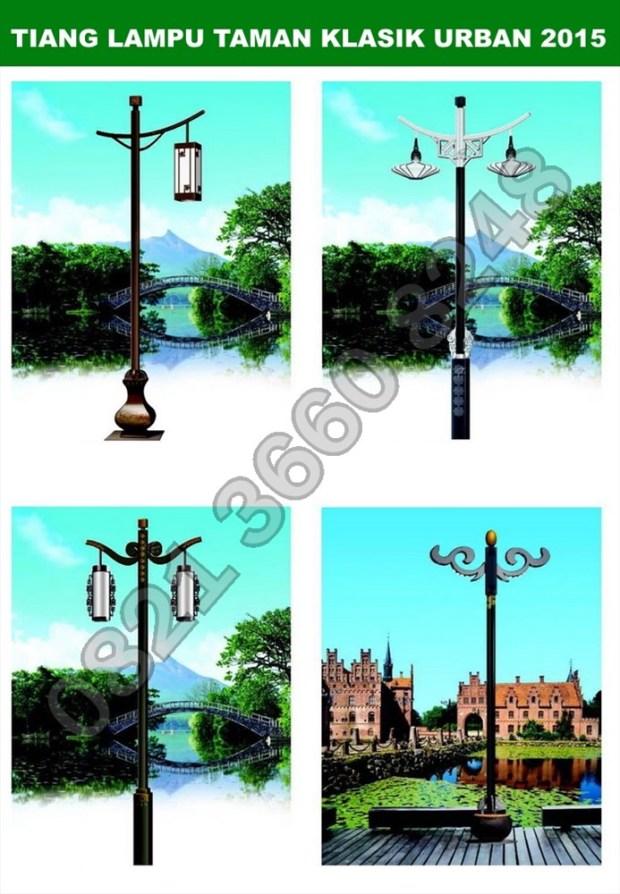 Tiang Lampu Taman7
