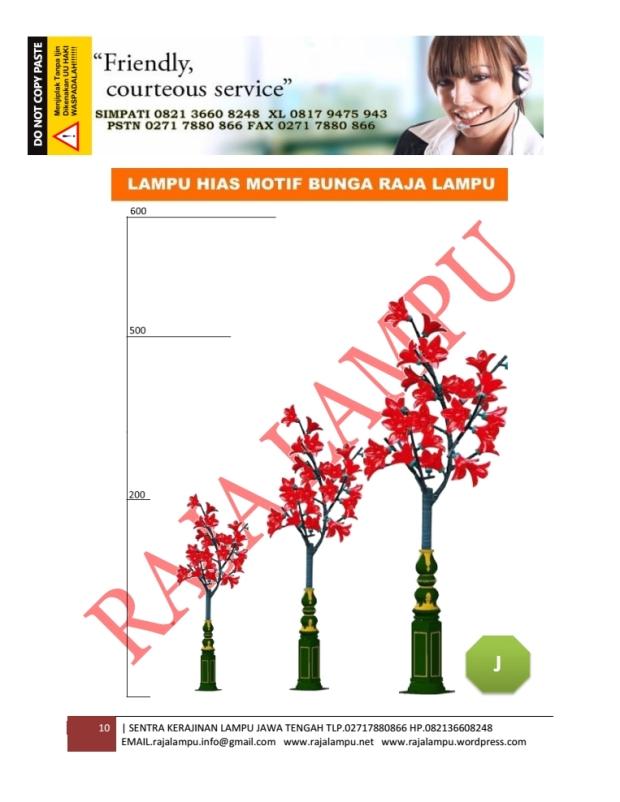 Lampu Hias Bunga Sakura 10