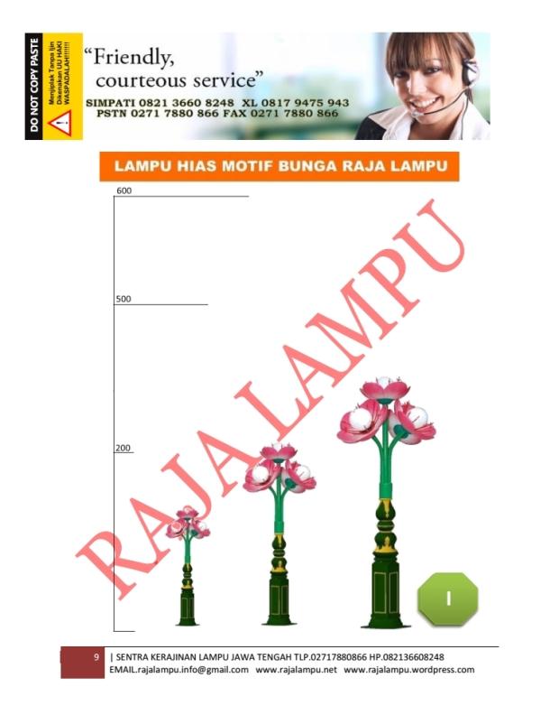 Lampu Hias Bunga Tulip Mini 9