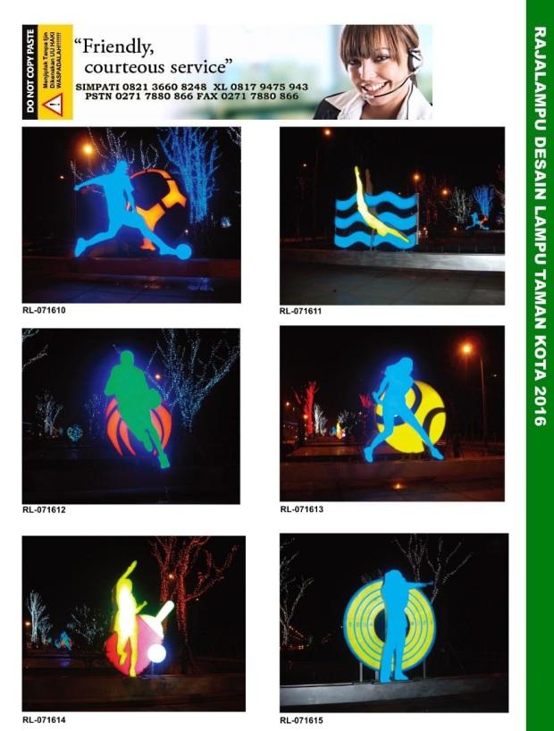 Tiang Lampu Taman Kota 4